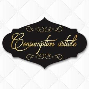 Consumption articles